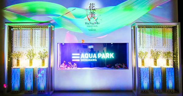 アクアパーク品川×ネイキッドが提示する、水族館の新しい楽しみ方