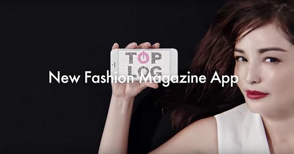 ファッションメディアアプリ TOPLOG、100万DLに向け初CMを放映開始