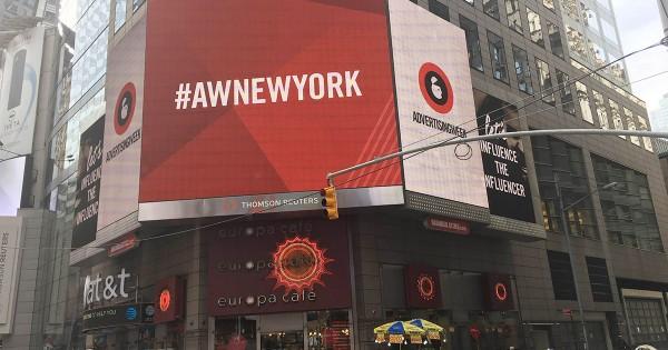 13回目のAdvertising Week、ニューヨークで開催 広告・メディア界のキーパーソン集まる
