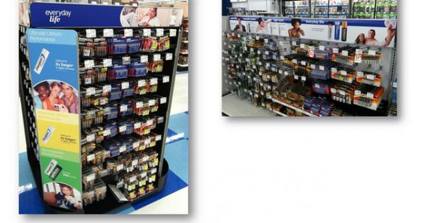 買い物客の購買行動を操作するとは?米国 乾電池売り場の劇的改善