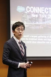 加藤氏からは、6月にニューヨークで開催されるイベント「Salesforce Connections」についても発表があった。世界からマーケターが集まるこのイベントに「JAPAN CMO CLUB」の有志が参加の予定。