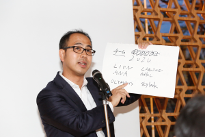 全日本空輸、オリンパス、すかいらーく、ライオン、ローソン、アフラックのマーケターのチームの企画のタイトルは「Team 2020」。インバウンド市場が活性化しているが、2020年に向けて、さらに訪日外国人が増えることが予測される中、各社が持つブランドを結集して、訪日観光客に魅力的な体験を提供しようというコラボレーション企画。「ヘルスケア」「インバウンド」など市場全体が活性化しているテーマについては、業種や業態の壁を越えたコラボレーションを期待するマーケターが多い。