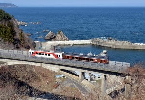 2014年に完全復旧した三陸鉄道