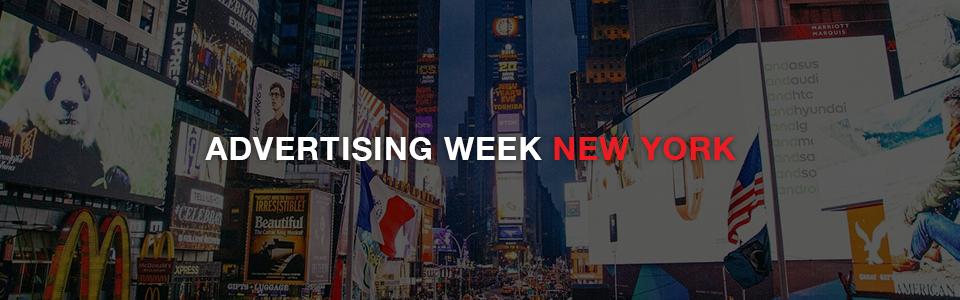 ADVERTISING WEEK in New York