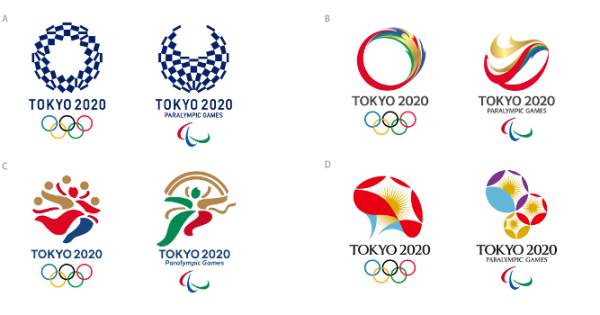 東京五輪エンブレム、最終候補4作品が決定