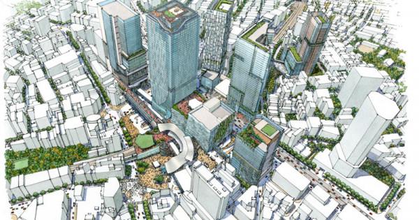 """渋谷を""""クリエイティブワーカーの聖地""""へ 東急電鉄、渋谷再開発の詳細計画を公開"""