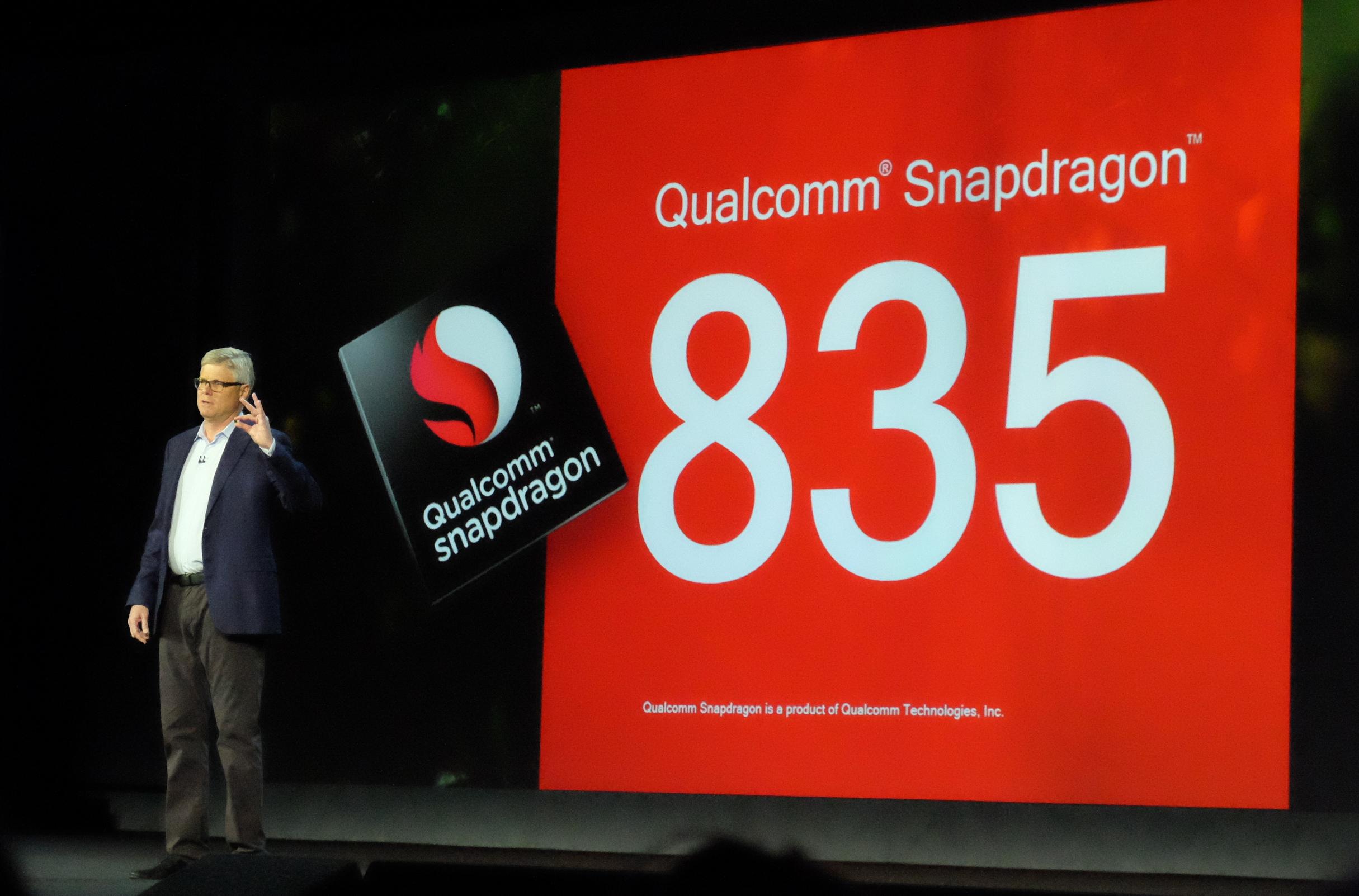 Qualcommは次世代チップセットSnapdragon 835を発表。