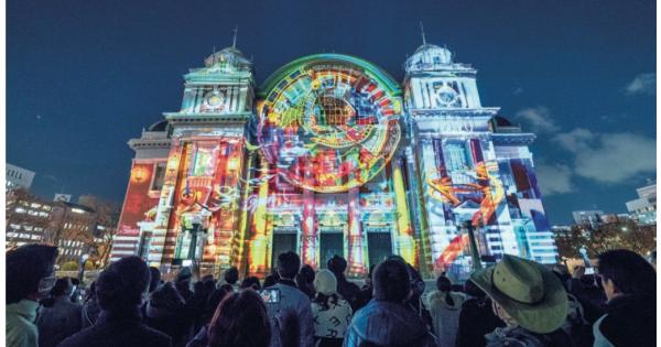クリエイティブの視点 VOL.15 大阪市中央公会堂・プロジェクションマッピング