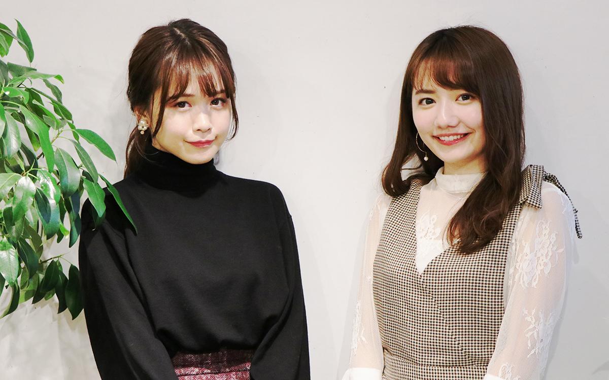 椎木里佳と菅本裕子