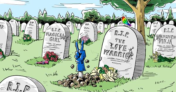 ヒーローたちの墓場