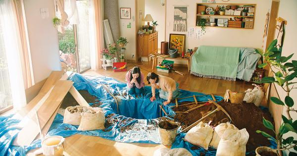 お父さん、今度は自宅の地下を掘って崩落!? — リフォームステーションの新テレビCM