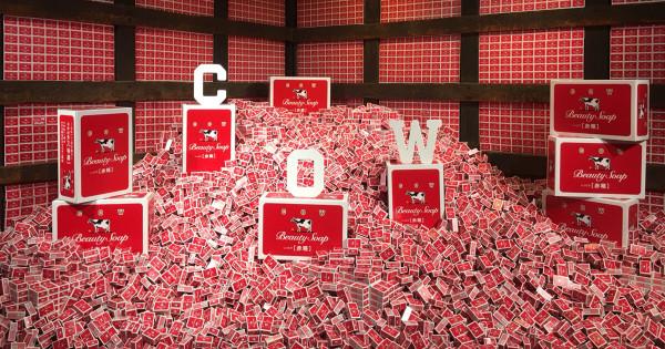 牛乳石鹸が京都にポップアップストア「赤箱女子」にPR