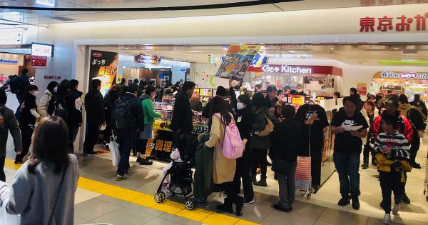 ブラックサンダー「義理チョコショップ」東京駅で今年も開催 完売商品も