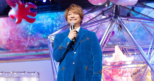 香取慎吾、360度回転するステージで国内初個展 6月16日まで