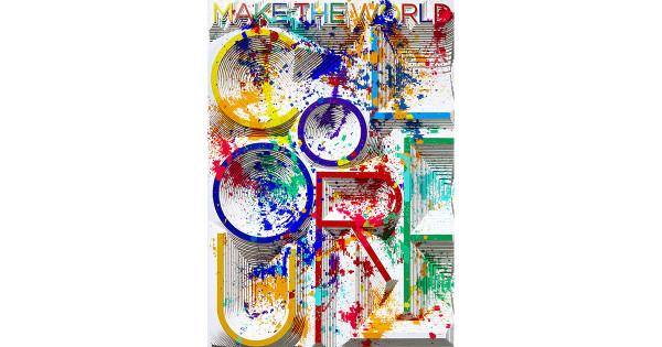 アートディレクター 八木秀人の究極の手技から生まれる作品展「Piled up messages」