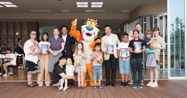 日本ケロッグ、夏休みの朝食欠食改善で「朝活」 滋賀県のSDGs目標と連動