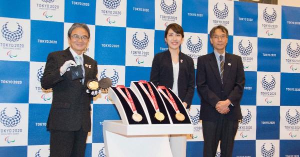 東京パラリンピックのメダル 博報堂プロダクツ・松本早紀子氏のデザインに決定