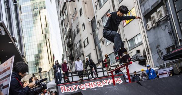 ストリートスポーツ、シーン作りの第一歩は、アンダー15の大会
