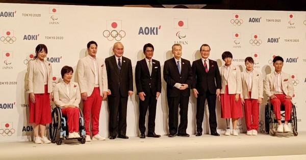 オリ・パラ同一デザインは初 AOKI、日本選手の公式服を発表