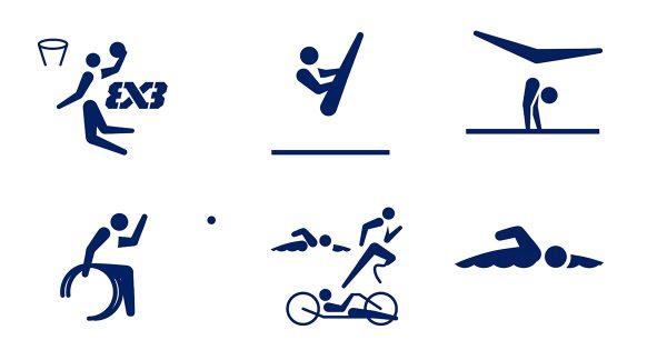 オリンピック・パラリンピック大会史上初となる「動くスポーツピクトグラム」を発表