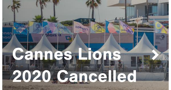 カンヌライオンズ、本年度の開催を中止