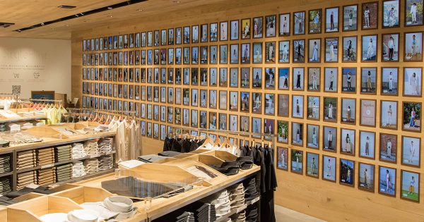 ユニクロ原宿店6月5日オープン 240台のディスプレイで着こなし提案