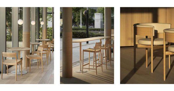 ブルーボトルコーヒー、みなとみらいの新店舗内の椅子を販売