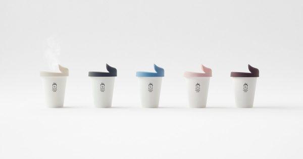 ローソン、コーヒー専用の繰り返し使える蓋を発売 nendoがデザイン