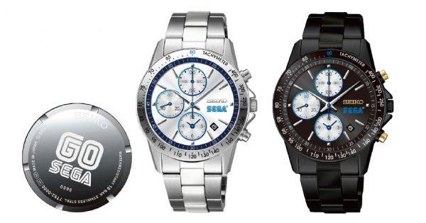 セガ60周年、セイコーとダブルネームの記念腕時計、完売モデルも