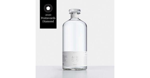 PENT AWARDS最高賞は、カーボンネガティブウォッカブランドのパッケージ