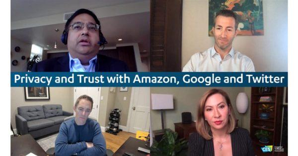 【CES2021】「信頼」が企業の生き残りを左右する Google・Twitter・Amazonディスカッション(玉井博久)