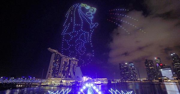 ベクトルグループのスマートメディア、新たにドローンによる「空」の広告を展開