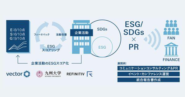 ESG/SDGs×PRが日本企業を 強くする 日本発の格付け機能が始動!ESG/SDGs経営を支援