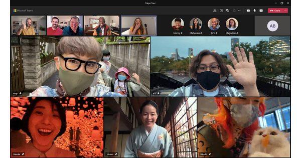 Microsoft Teams、米国でテレビCM「東京行きのチケット」を放映中
