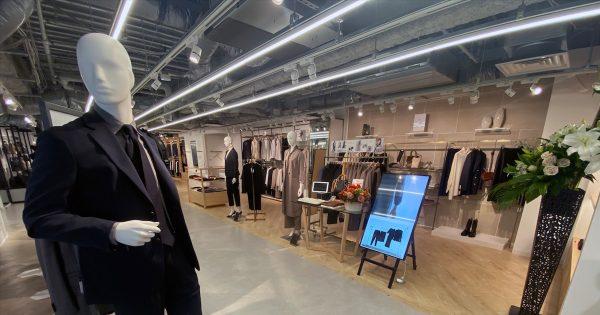 スーツへの価値観の変化に対応 青山商事のOMO旗艦店