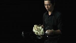 桃屋「味付榨菜」新テレビCMの1コマ