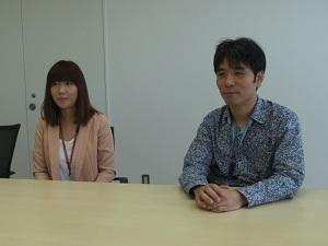 山本理恵さんと塩入達也さん