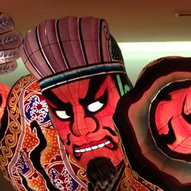次回全広連大会は名古屋 青森に100人が武将姿でアピール