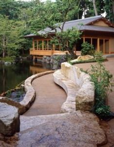 作品1 寒川神社(神奈川県高座郡)の茶室(撮影:田畑みなお)