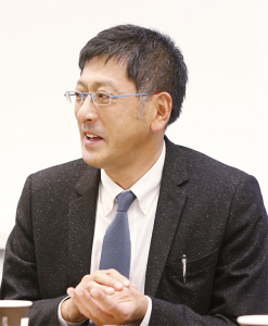 王子ネピア 取締役 マーケティング本部長 今敏之氏